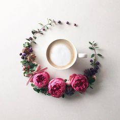 """1,557 Likes, 11 Comments - Better Homes & Gardens (@betterhomesandgardens) on Instagram: """"Coffee break, courtesy of @la_fee_de_fleur ☕️ #BHGFlowers"""""""