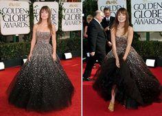 Olivia Wilde Marchesa Golden Globes