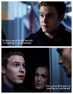 To stand up    Leo Fitz    AOS Season 1    520x670    #fanedit #quotes