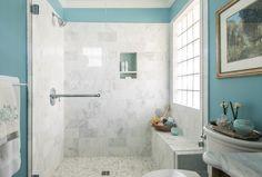 AWESOME Shower   ~  Dona Rosene Interiors
