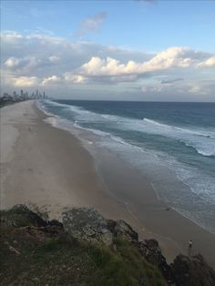 #miamibeach view from Burleigh Heads lookout #goldcoast