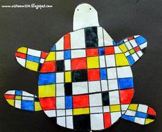 3rd Grade: Mondrian Unit (Part 1)