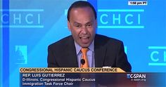 [Watch] Racist Rep Luis Gutierrez Threatens GOP – Repealing Illegal Amnesty Will Be The End of You