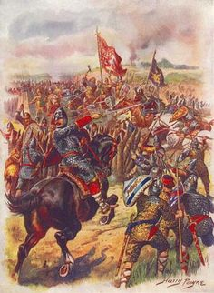 Roman Battle Pictures | The last stand of King Harold and his Housecarles