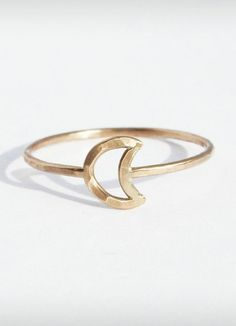 Gold Moon Ring ( I prefer silver, but this is still beautiful)
