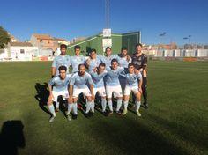 Los 11 titulares C. F. La Solana - U. D. La Fuente (30-10-2016)