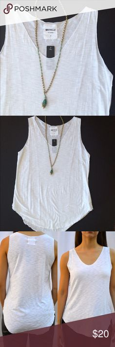 Plain white tank Again, 🚫 NO TRADES OR PAYPAL🚫 Please let me know what size you will need before you purchase. Tops Tank Tops