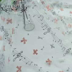 FFLACELL-1Meter-Music-embroidered-lace-fabric-DIY-handmade-bow-musical-note-lace-accessories-wedding-dress-lace