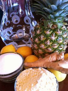 A delightful refreshing drink from Burkina Faso made with pineapple. Would be wonderful during the summer!