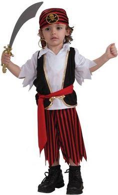 disfraz pirata niños casero - Buscar con Google