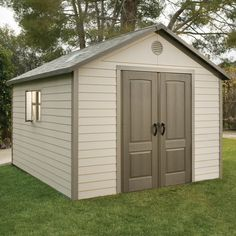 Found it at Wayfair - 11 Ft. W x 13.5 Ft. D Plastic Storage Shed