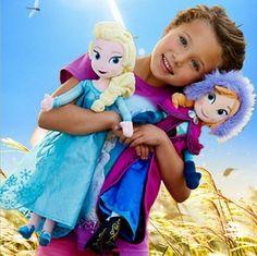 New Disney Frozen Princess Elsa/Anna Olaf/Sven Soft Stuffed Plush Doll Gift Toys