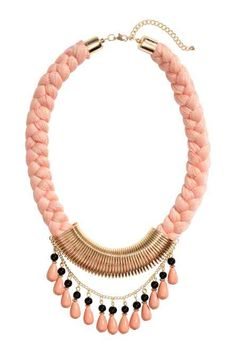 Accesorios Collares Moda, Accesorios Collares Elegantes, Bisuteria Collares De Moda, Collares Trenzados, Collares Paso, Collares Hermosos, Collares Vintage,