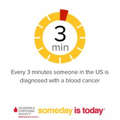 Together, we can reduce these numbers! #bloodcancer #leukemia #somedayistoday