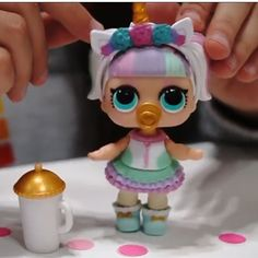 OMG! Did not know LOL surprise dolls came out with a unicorn doll! So want this!!