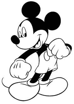 coloring page free mickey mouse coloring pages - Free Mickey Mouse Coloring Pages