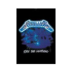 Metallica Ride the Lightning Textile Poster - Light up any room with this electrifying Metallica Ride the Lightning textile poster featuring artwork from their second album.