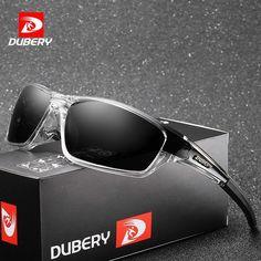 e05eb907311 DUBERY Polarized Aviation Driving Sunglasses Mens Retro Male Goggle Sun  Glasses For Men Brand Luxury Mirror Shades Oculos