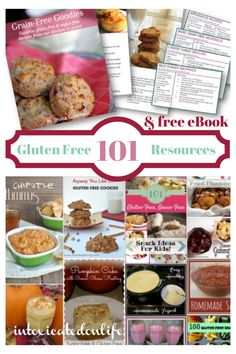 101 Awesome Gluten Free Resources (plus a free book: Grain Free Goodies!)