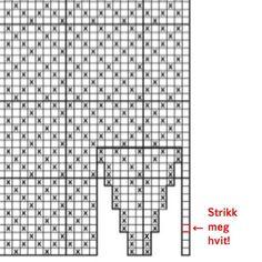 Hvordan strikke selbuvotter – Lag det selv, da vel Mittens, Knitting, Fair Isles, Fingerless Mitts, Tricot, Breien, Fingerless Mittens, Stricken, Weaving