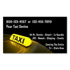 Times square nyc bookmark double sided mini business cards pack of taxi business cards this great business card design is available for customization all text colourmoves