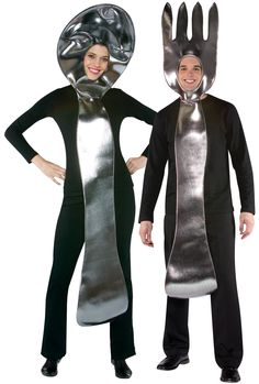 Fork and Spoon Costume Set Adult from CostumeExpress.com
