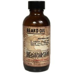 Beard Oil 2 Ounce  Northern Man woodsy scent by GorillaCandles