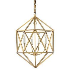 Lighting is one of the most important elements of home design. | white pendant - One Kings Lane