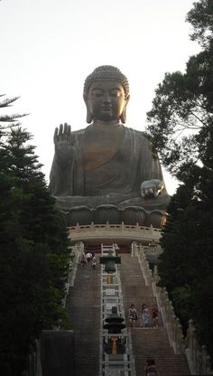 Tian Tan Buddha in Hong Kong.