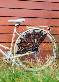Crochet Bicycle Skirt Guard by Knits for Life by LornaWatt, via Flickr. Adorable!!!
