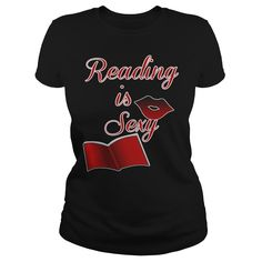 Reading Is Sexy Grat Gift For Any Smart Reading Fan, Order HERE ==> https://www.sunfrog.com/Hobby/Reading-Is-Sexy-Grat-Gift-For-Any-Smart-Reading-Fan-Black-Ladies.html?41088