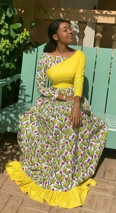 100 Latest Ankara Styles 2019 for beautiful African Ladies Latest African Fashion Dresses, African Inspired Fashion, African Dresses For Women, African Print Dresses, African Print Fashion, Africa Fashion, African Attire, Latest Ankara Styles, African Prints
