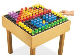 Light Table Pegs & Pegboard at Lakeshore Learning