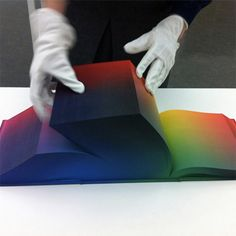 Tauba Auerbach's RGB Colorspace Atlas Depicts Every Color Imaginable