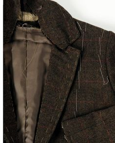 Learn tailoring techniques which build shape using malleable natural fibers with various techniques to control the fabric.