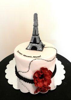 eiffel tower cake.....LOVE!!!