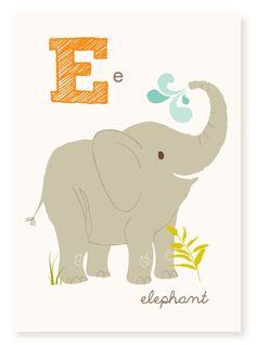 Abc Wall Art abc card, b is for bumblebee, abc wall art, alphabet flash cards