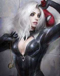 Rate this Black Cat artwork!-Credit: @thedurrrrian-Turn on post  notifications in order not to miss anything!-Follow @superheronow  fo....superheronow is sharing instagram posts and you can see pictures  video posts and on this media post page.