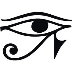 The Eye of Horus Pharaonic Egypt ❤ liked on Polyvore featuring egypt, fillers, egyptian, cleopatra and accessories
