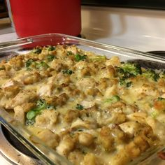 Broccoli Chicken Casserole I Chicken Broccoli Casserole, Broccoli Chicken, Creamy Chicken, Chicken Divan, Garlic Chicken, Food Dishes, Main Dishes, Broccoli Bake, Chicken Casserole