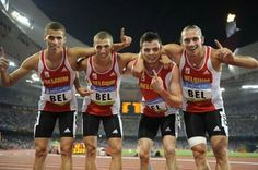 💗💘💝💞 The #BelgianTornados moved to the 4th place  at the #OlympicGames #Olympics2008 #Beijing2008 after the official disqualification of the Russian team  because of doping   ✊👌✌👏😜😎😉 #Athletism #sport 4X400m  #Sprint  #BelgianAthlets #TeamBelgium #IkbenBelg #TrotseBelgen #StolzeBelgier #ProudBelgians #ILikeBelgium #BelgiumIsBeautiful   💓💔💕💖