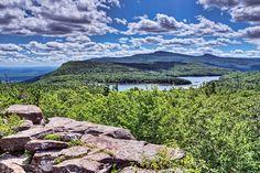 Sunset Rock, Catskill Mountains, New York State