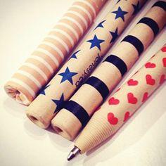 Jonesy paper pens