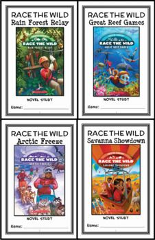 Race the Wild BUNDLE (Kristin Earhart) 4 Novel Studies : Books #1-4 (120 pages) * Follows the Common Core Standards * This Race the Wild BUNDLE contains 4 Novel Studies from the Race the Wild book series by Kristin Earhart. In total, there are 120 pages. Each Novel Study is in booklet-style format. This download includes 4 Novel Studies for the first 4 books in the Race the Wild series by Kristin Earhart: Race the Wild #1: Rain Forest Relay Race the Wild #2: Great Reef Games Race the Wild…
