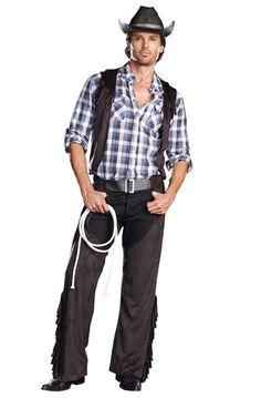 Casanova Cowboy Adult Men Costume #halloween #costumes