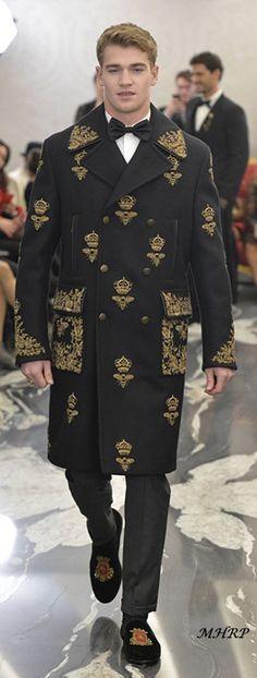 Dolce & Gabbana - Alta Sartoria London - Cruise 2018 Menswear Collection