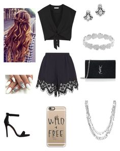 """""""Matte"""" by harjas1321 ❤ liked on Polyvore featuring Alice + Olivia, Chloé, Steve Madden, Ben-Amun, Yves Saint Laurent, Sterling Essentials and Casetify"""