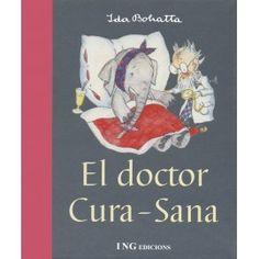 """""""El doctor cura-sana"""" de Ida Bohatta. Otros títulos de esta autora: """"Las preocupaciones de los ratoncitos"""", """"La casita de las raíces"""", """"Los animales del bosque en invierno"""". Son libros de poesía pequeños con ilustraciones muy cuidadas."""
