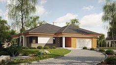 Z281 - Parterowy dom z dwustanowiskowym garażem oraz dużym PG z opcją na paliwo stałe