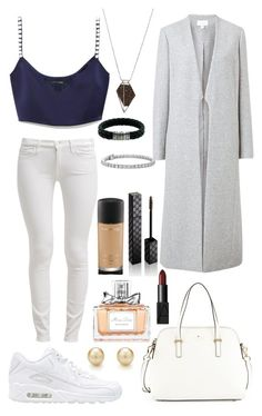 """Untitled #28"" by sahel24 ❤ liked on Polyvore featuring NIKE, 7 For All Mankind, Marc Jacobs, Witchery, Kate Spade, Monique Péan, John Hardy, Blue Nile, MAC Cosmetics and Christian Dior"